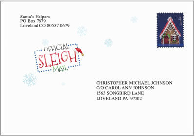 personalized letters from santa personalized santa letters
