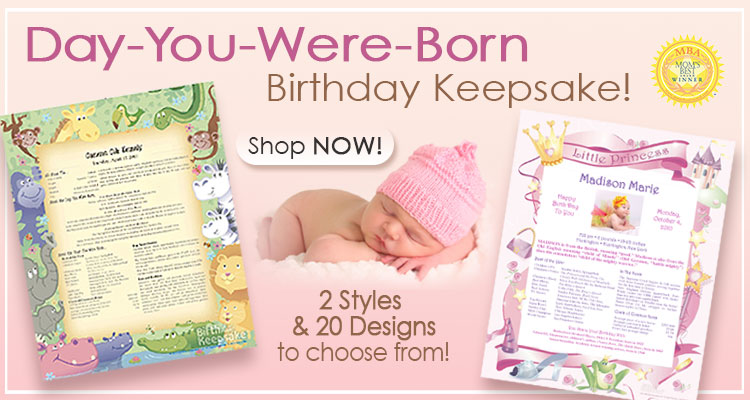 Personalized day you were born baby keepsakes wedding keepsakes weddinganniversary keepsakes birthday keepsakes negle Choice Image